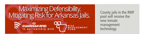 Guardian Pro RFID and AAC Risk Management Fund mitigate risks for Arkansas jails